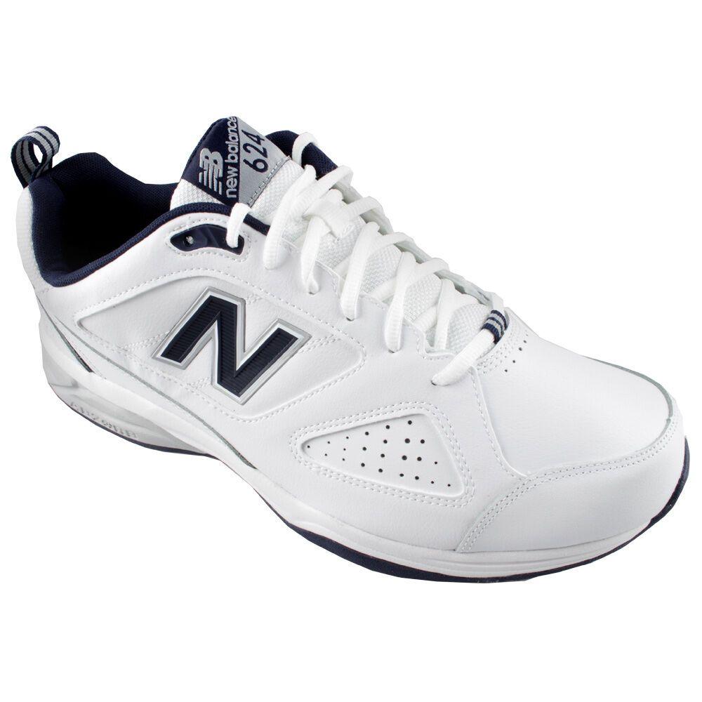 NEW BALANCE 6E WHITE TRAINER - NEW