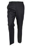 DANIEL HECHTER SELF STRIPE CHARCOAL TROUSER-extra long suits-BIGGUY.COM.AU