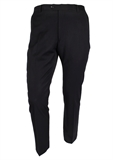 FLAIR SELF RIB TALL TROUSER-extra long trousers-BIGGUY.COM.AU