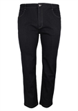 BOB SPEARS BLACK STRETCH JEAN-fashion jeans-BIGGUY.COM.AU