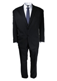 FLAIR BLACK TWILL SUIT-suits-BIGGUY.COM.AU