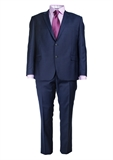DANIEL HECHTER MICROCHECK SUIT-extra long suits-BIGGUY.COM.AU