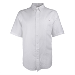 RM WILLIAMS PLAIN LINEN S/S SHIRT-BIGGUY.COM.AU